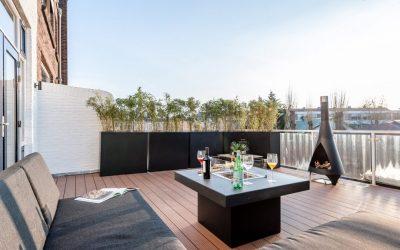 Wat te doen met een terras van 30 m2?