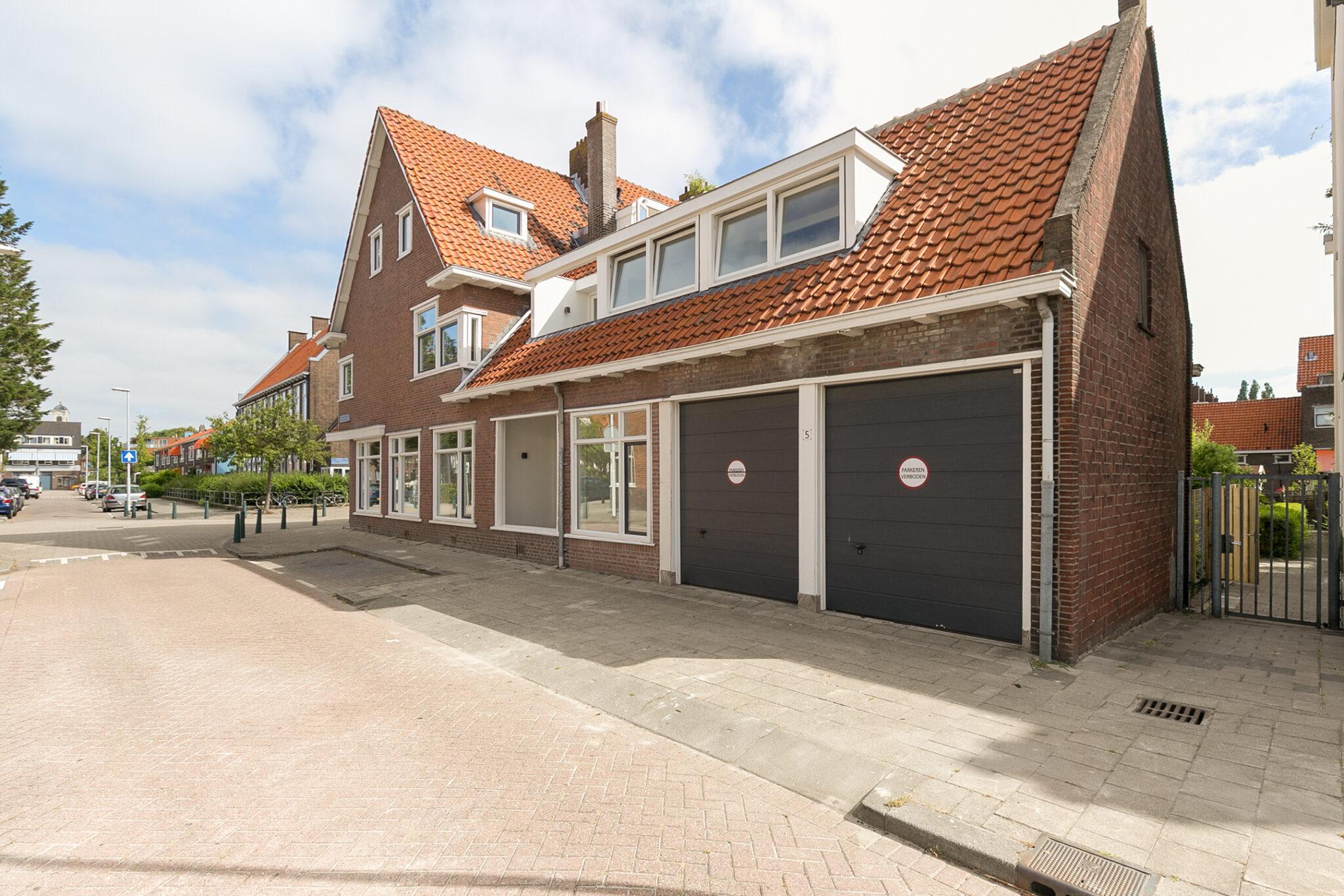 Pieter van Aschstraat 2B vanuit Geerkensstraat