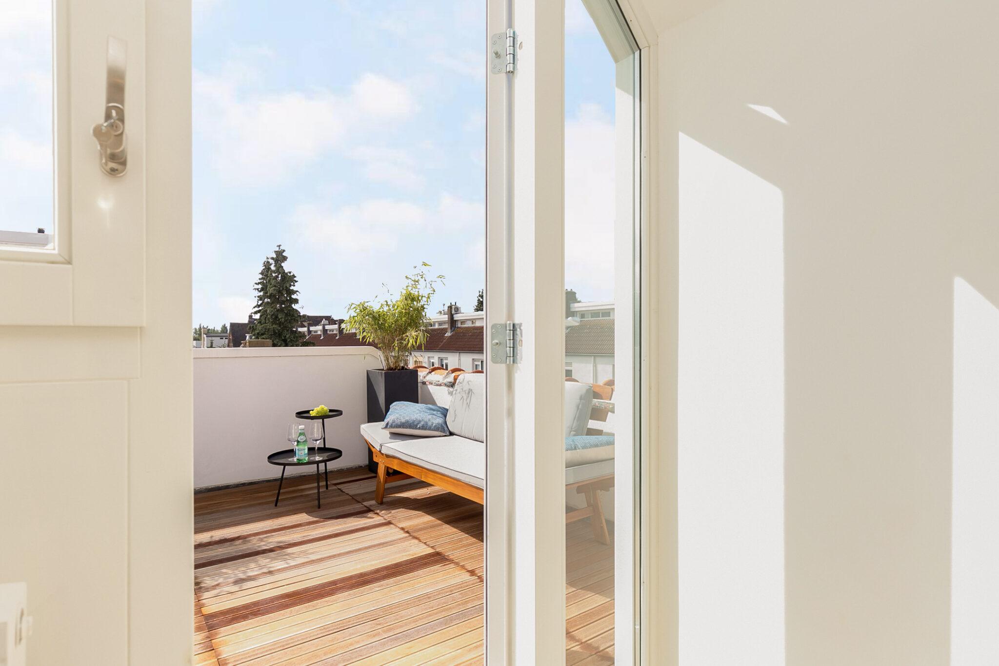 Pieter van Aschstraat 2B zonnige slaapkamer aan terras2