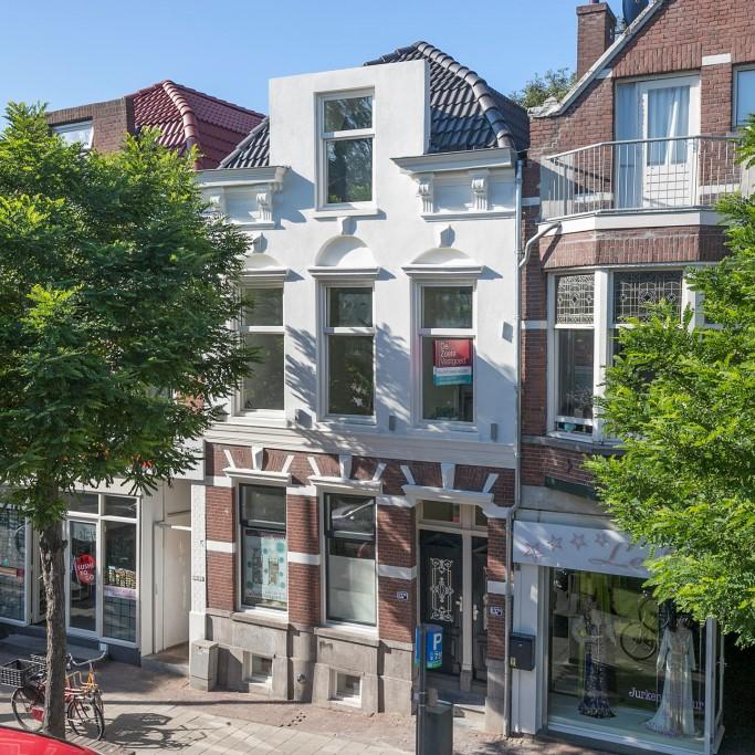 Zwart Janstraat 137A authentieke voorgevel