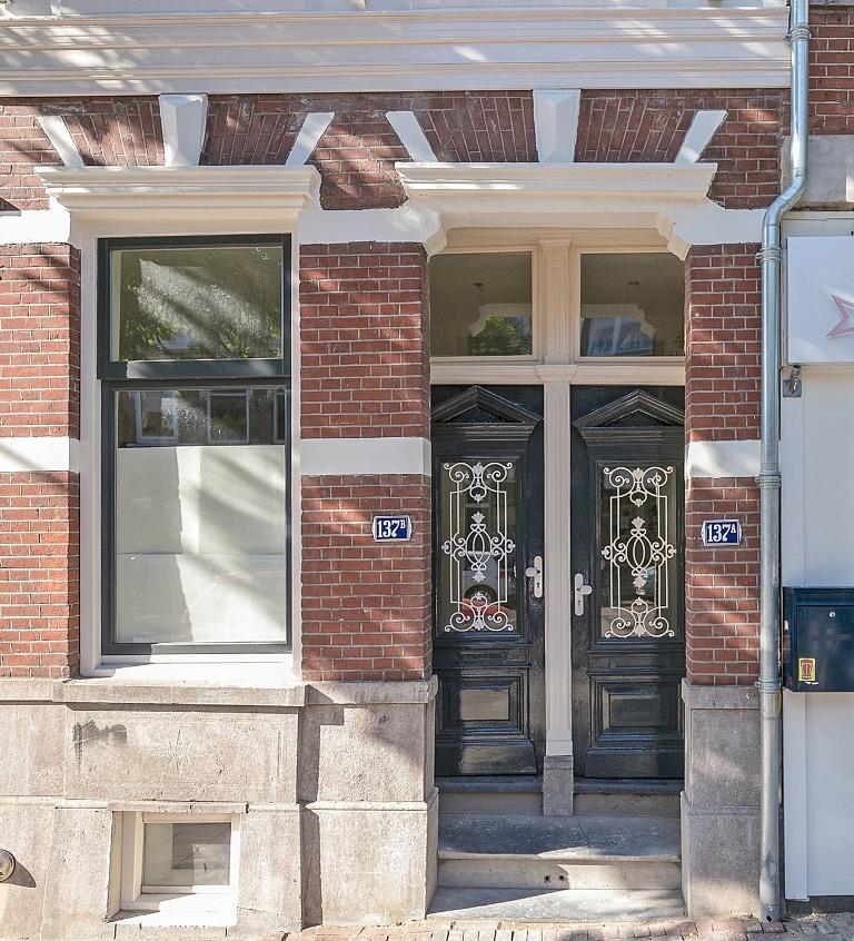 Zwart Janstraat 137A - originele entree