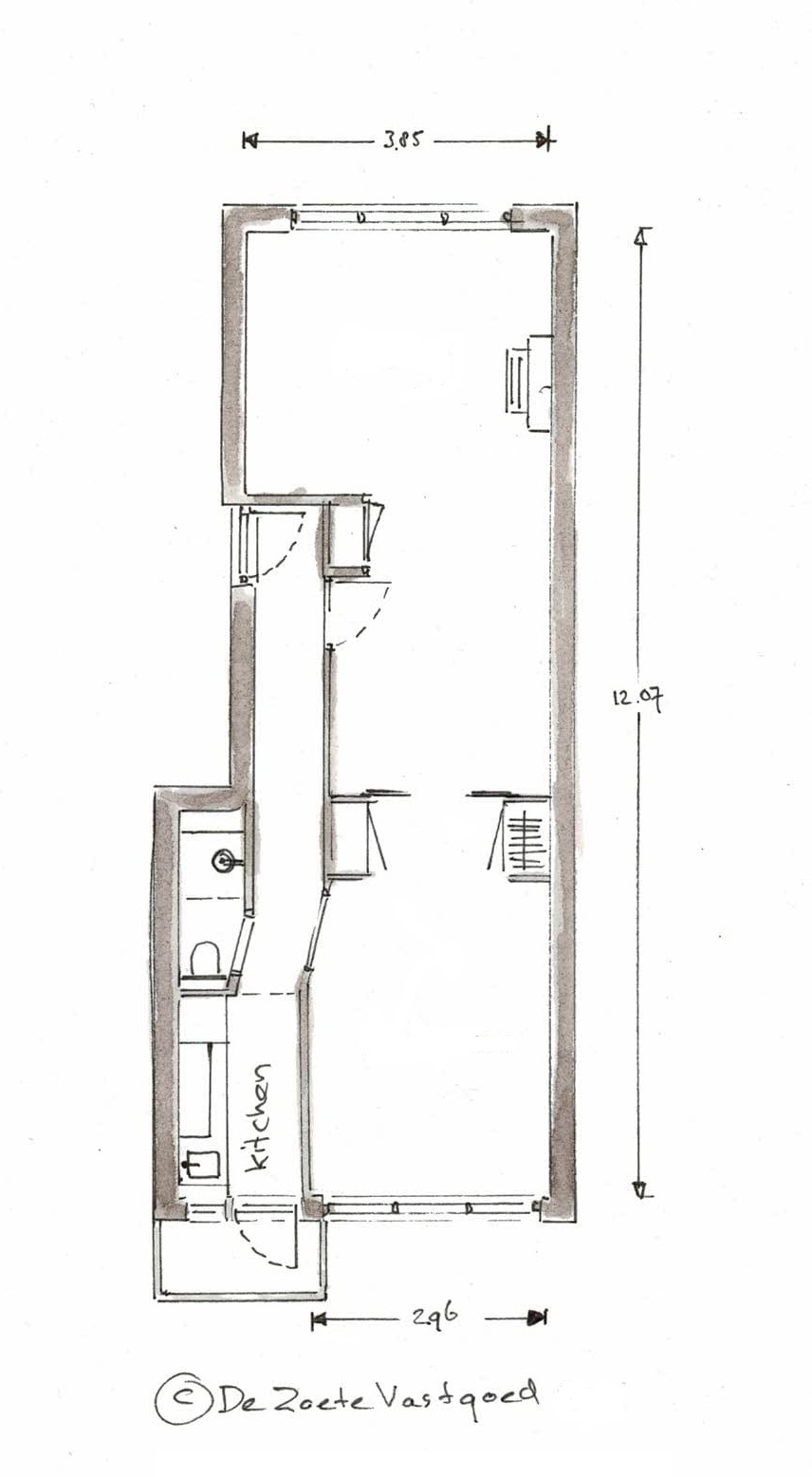 20200102 Plattegrond Noorderhavenkade